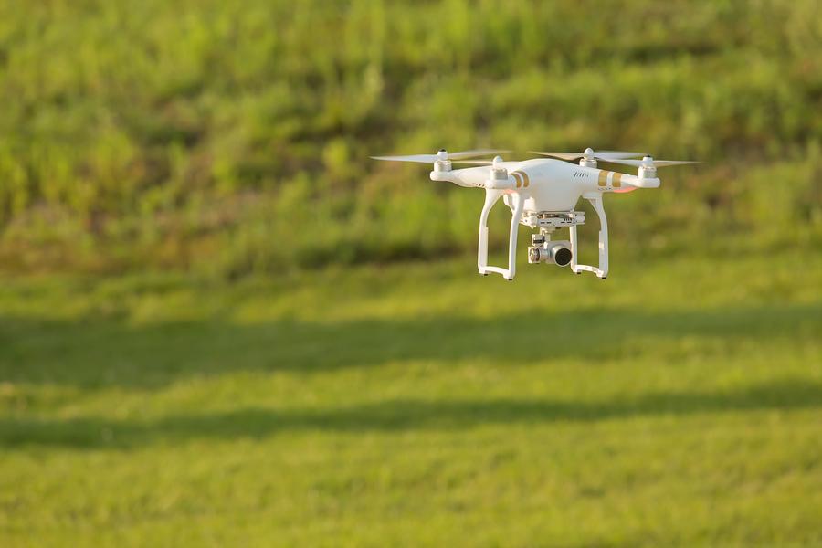 I droni possono rivelarsi preziosi alleati per l'agricoltura di precisione..