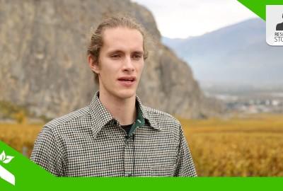 William Metz spiega come i droni possano aiutare la viticoltura.