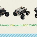 Il rover VinBot permette una gestione ottimizzata della vigna.