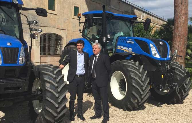 Cnh Industrial mostra il futuro dell'agricoltura di precisione.