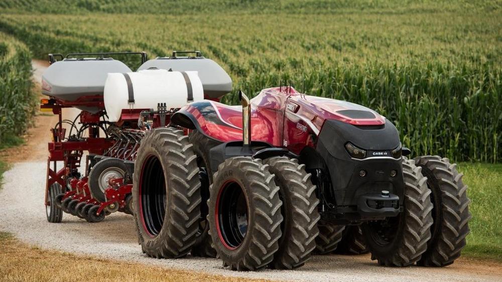 Il trattore a guida automatica della CNH.