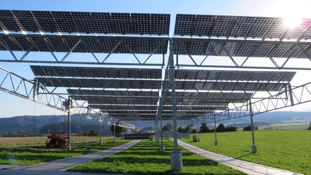 Sarà presto attivo in Germania un impianto fotovoltaico sperimentale.
